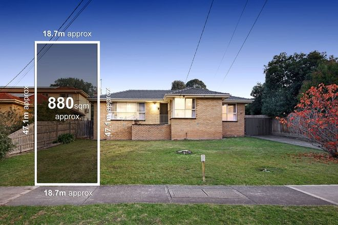 Picture of 72 Cardigan Road, MOOROOLBARK VIC 3138