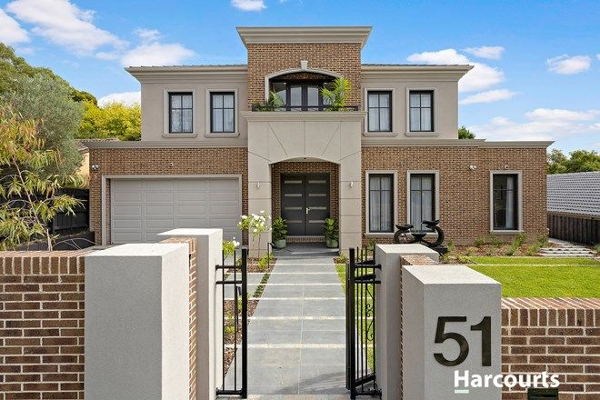 Picture of 51 Jells Road, WHEELERS HILL VIC 3150