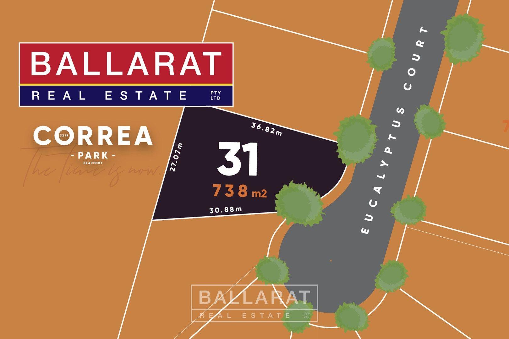 Lot 31 Eucalyptus Court, Beaufort VIC 3373, Image 0