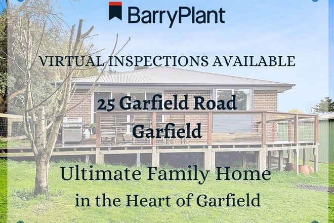 Picture of 25 Garfield Road, GARFIELD VIC 3814