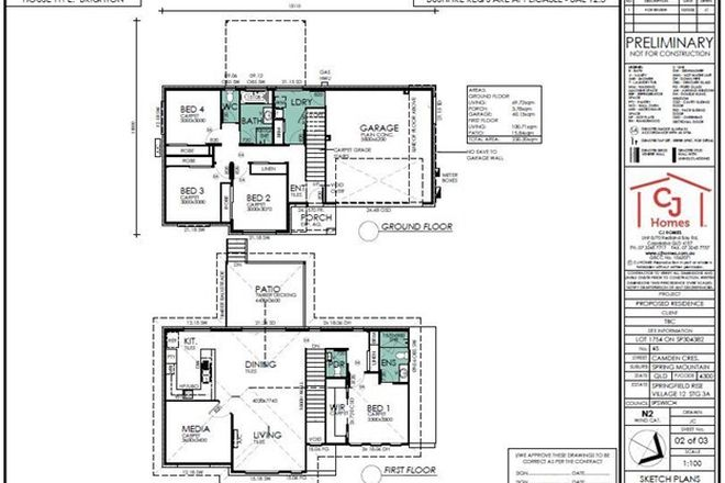 Picture of Lot 1754 Camden Street, SPRINGFIELD LAKES QLD 4300