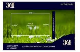 Picture of LOT 44 Gravnell Circuit, Caroline Springs VIC 3023