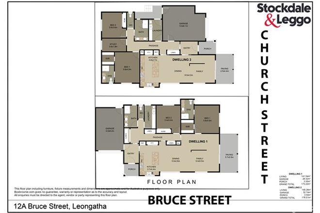 Picture of Lot 1 & 2  12A Bruce Street, LEONGATHA VIC 3953
