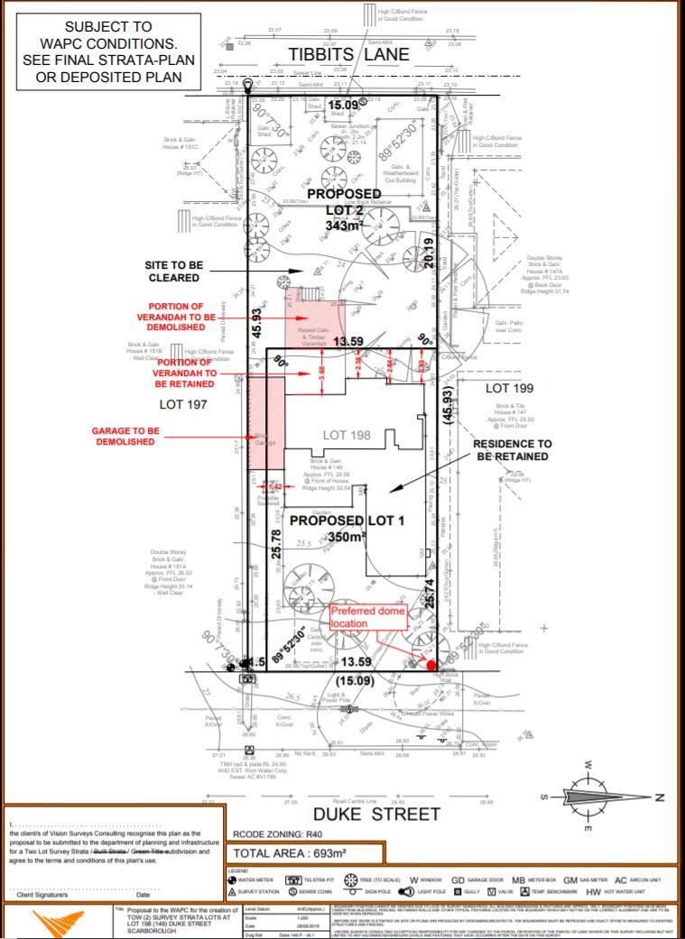Proposed Lot 2 149 Duke Street, Scarborough WA 6019, Image 2
