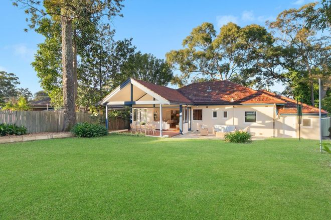 Picture of 42 Archbold Road, ROSEVILLE NSW 2069