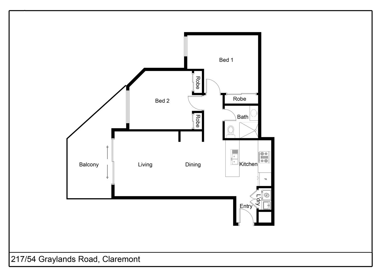 Proposed Unit 217/8 Graylands Road, Claremont WA 6010, Image 0