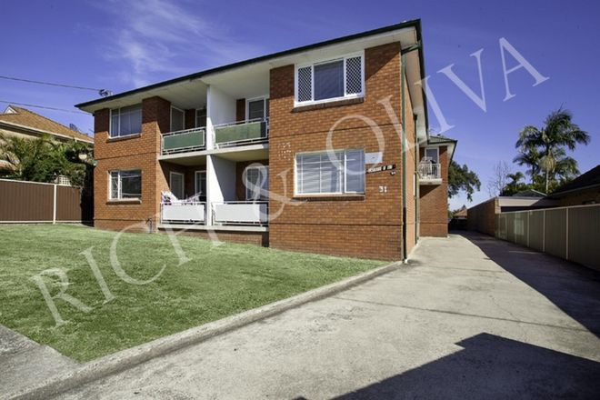 Picture of 5/31 Anderson Street, BELMORE NSW 2192