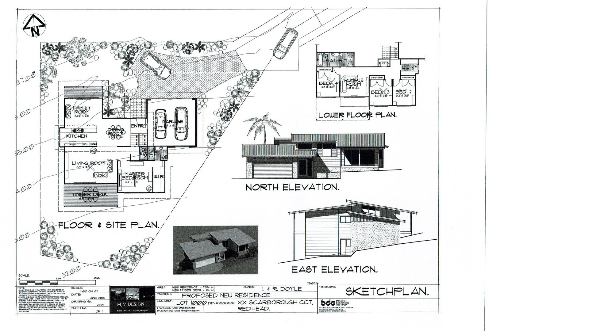 Lot 1000 Scarborogh Circuit, Red Head NSW 2430, Image 1