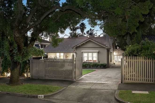 Picture of 43 Hanby Street, BRIGHTON VIC 3186