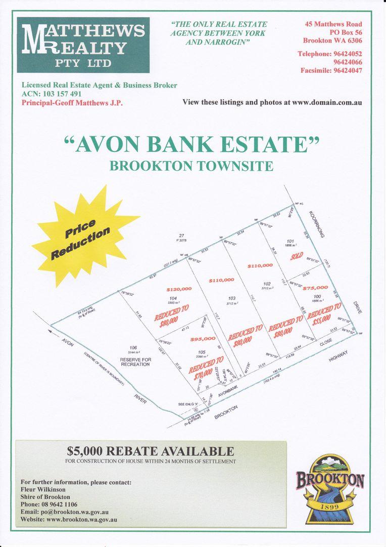 """Avon Bank Estate"" Great Southern Highway, Brookton WA 6306, Image 0"