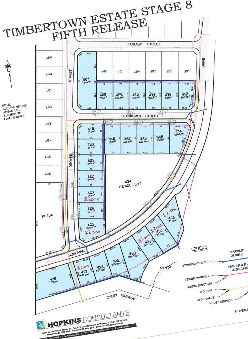 Lot 433 Timbertown Estate, Wauchope NSW 2446, Image 1