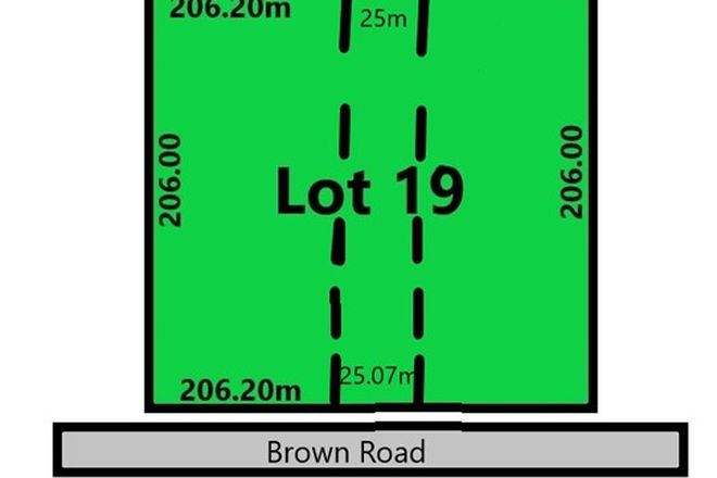 Picture of Lot 19 Brown Road, WATERLOO CORNER SA 5110