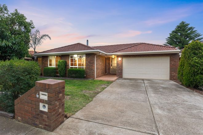 Picture of 6 Parmelia Drive, TAYLORS LAKES VIC 3038