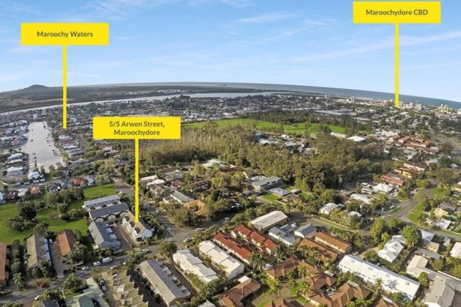 Picture of 5/5 Arwen Street, MAROOCHYDORE QLD 4558
