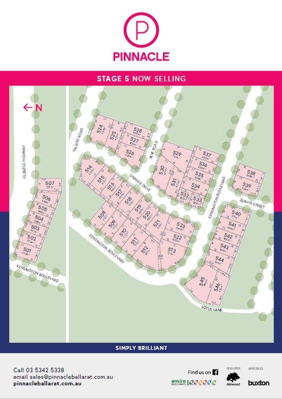 Lot 511 Kensington Boulevard, Delacombe VIC 3356, Image 2