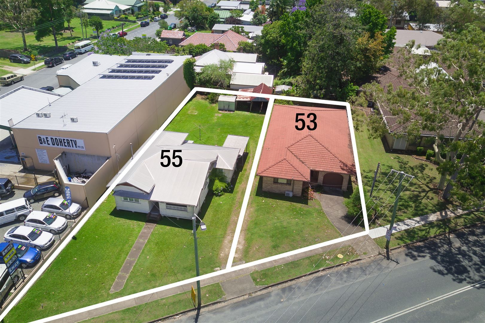 53 and 55 High Street, Wauchope NSW 2446, Image 0