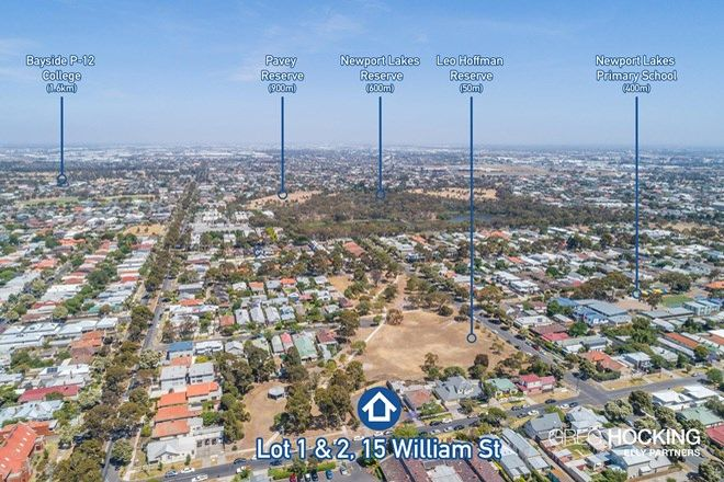 Picture of Lot 1 & 2, 15 William Street, NEWPORT VIC 3015