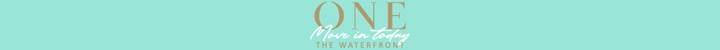 Branding for ONE The Waterfront