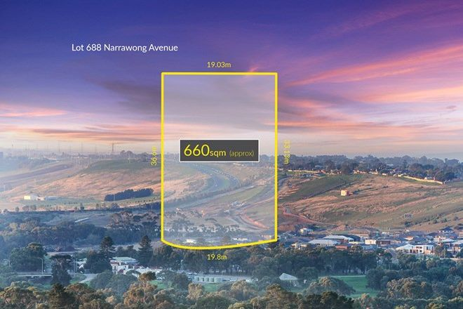 Picture of Lot 688 Narrawong Avenue, HIGHTON VIC 3216