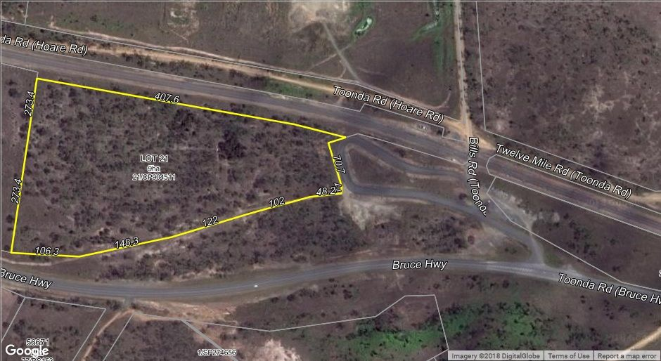 Lot 21 BRUCE HIGHWAY, Marmor QLD 4702, Image 0