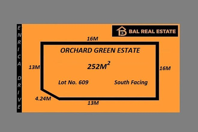 Picture of Lot 609 Enrica Drive, MELTON SOUTH VIC 3338