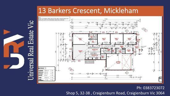 13 Barkers Crescent, Mickleham VIC 3064, Image 0