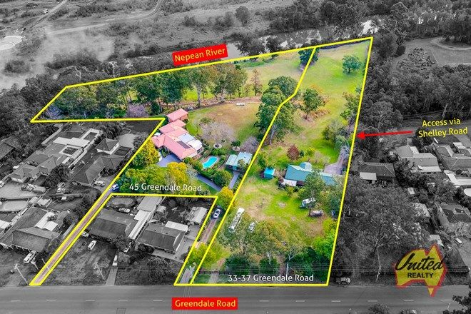 Picture of 33-37 & 45 Greendale Road, WALLACIA NSW 2745