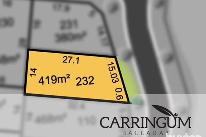 Picture of Carringum/Lot 232 Mountain Ash Circuit, WINTER VALLEY VIC 3358