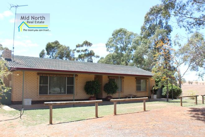Picture of 9 Marrabel Road, SADDLEWORTH SA 5413