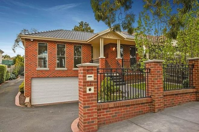 Picture of 1/417 Auburn Road, HAWTHORN VIC 3122
