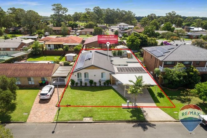 Picture of 17 HILTON ROAD, CAMBRIDGE GARDENS NSW 2747