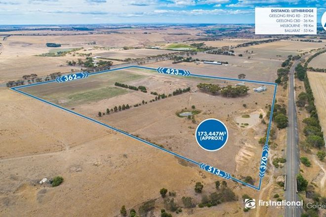 Picture of 2559 Midland Highway, LETHBRIDGE VIC 3332