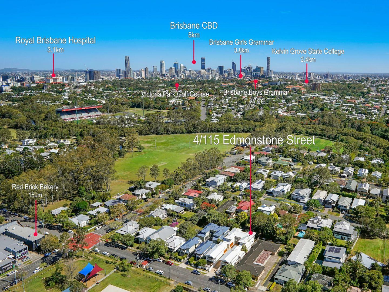 4/115 Edmondstone Street, Newmarket QLD 4051, Image 1