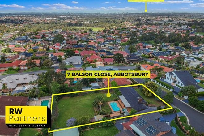 Picture of 7 Balson Close, ABBOTSBURY NSW 2176