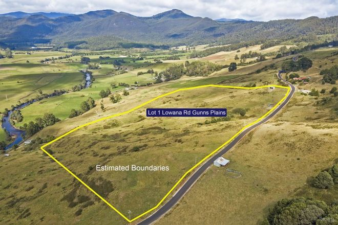 Picture of Lot 1 Lowana Road, GUNNS PLAINS TAS 7315