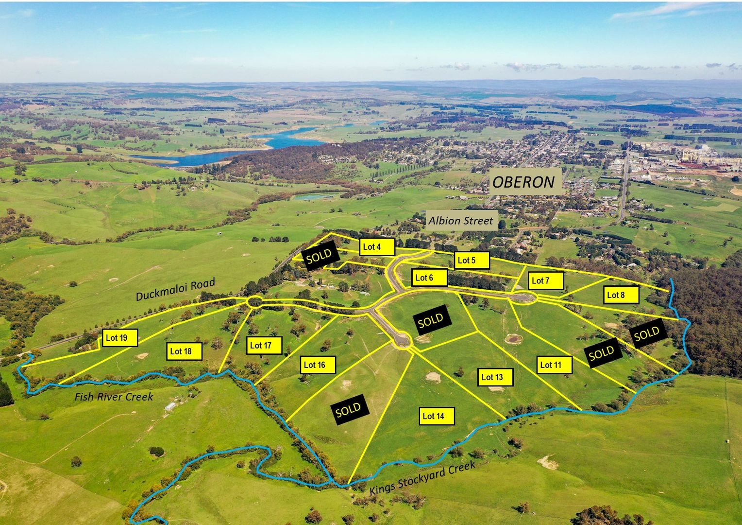 Kings Creek Rural Residential Land Release, Oberon NSW 2787, Image 0