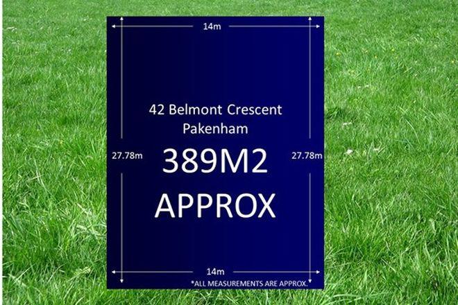 Picture of 42 Belmont Crescent, PAKENHAM VIC 3810