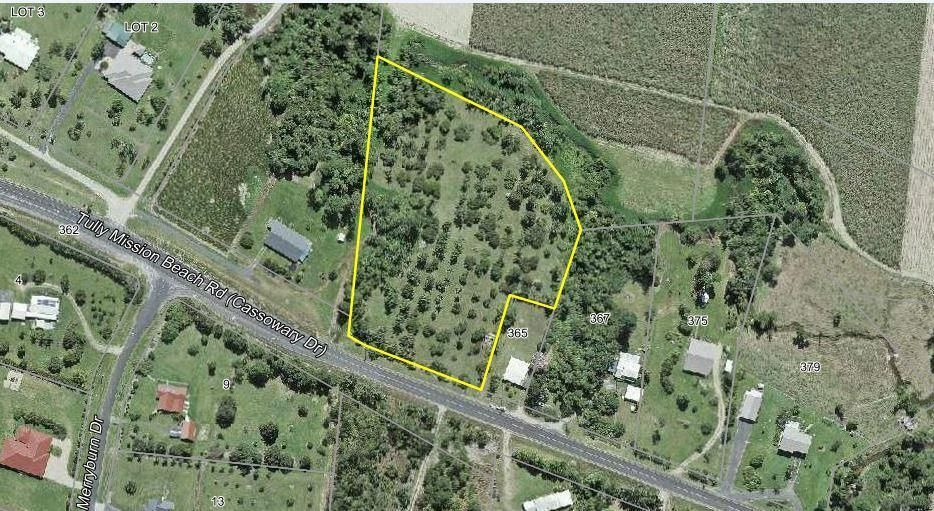 Lot 14 Tully Mission Beach Road, Merryburn QLD 4854, Image 0