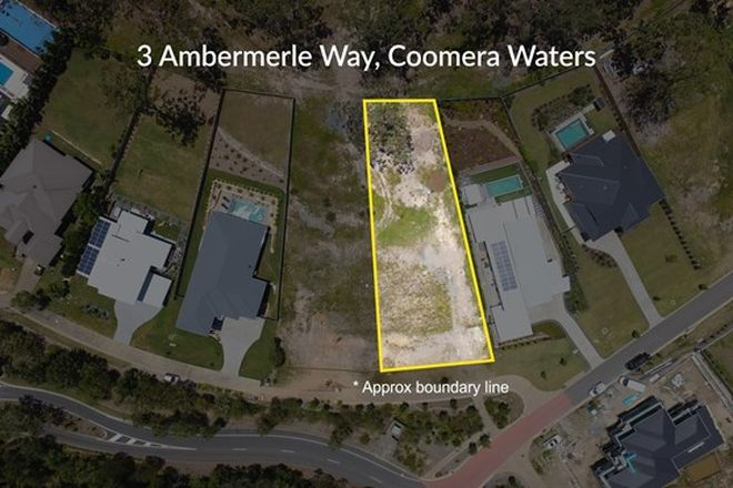 Picture of 3 Ambermerle Way, COOMERA WATERS QLD 4209
