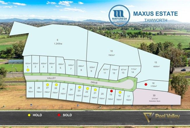 Picture of Lot 15 Valley Drive, Tamworth