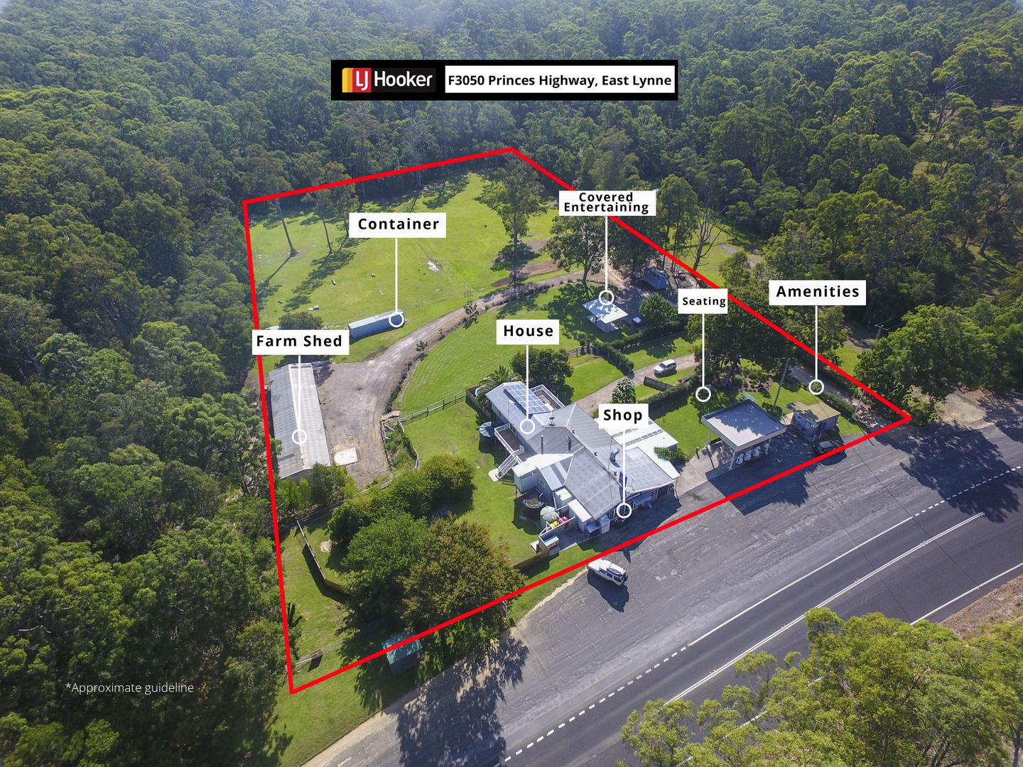 F3050 Princes Highway, East Lynne NSW 2536 - House for Sale - 5 00 acre