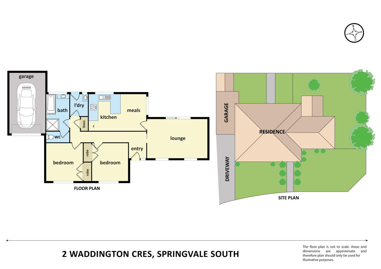 1/2 WADDINGTON CRES, Springvale South VIC 3172, Image 0