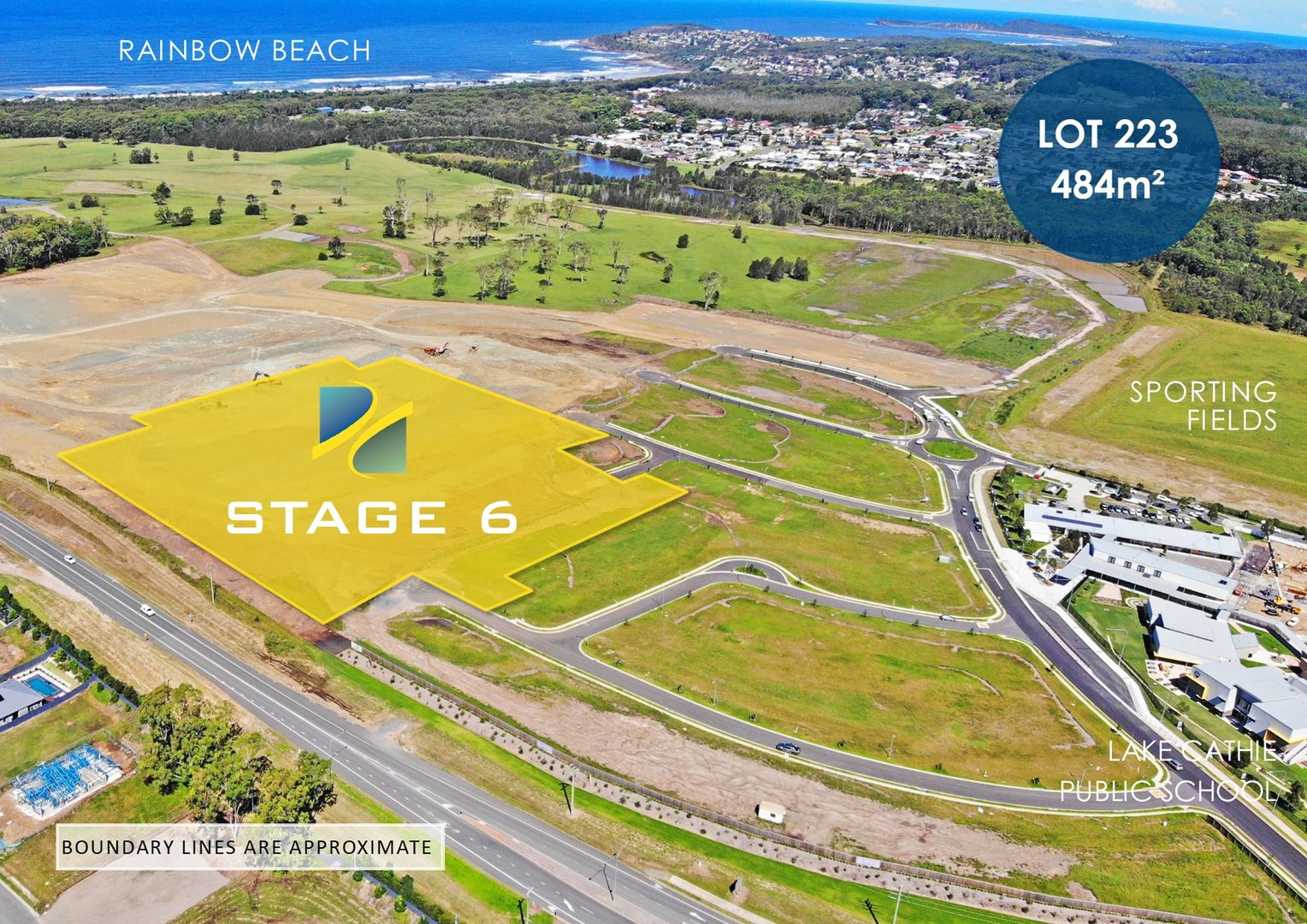 Lot 223 - Rainbow Beach Estate, Lake Cathie NSW 2445, Image 0