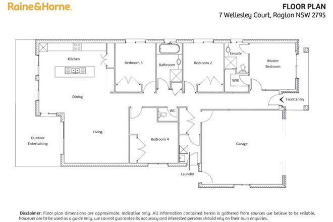 Picture of 7 Wellesley Court, RAGLAN NSW 2795