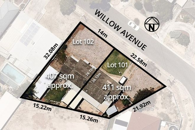 Picture of LOT 101 - 102 Willow Avenue, SALISBURY EAST SA 5109