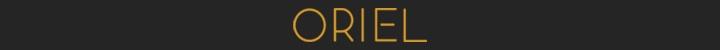Branding for Oriel