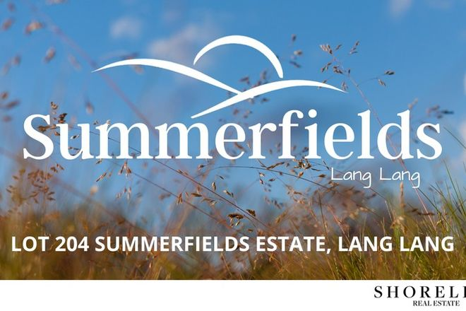 Picture of Lot 204 Summerfields Estate, LANG LANG VIC 3984
