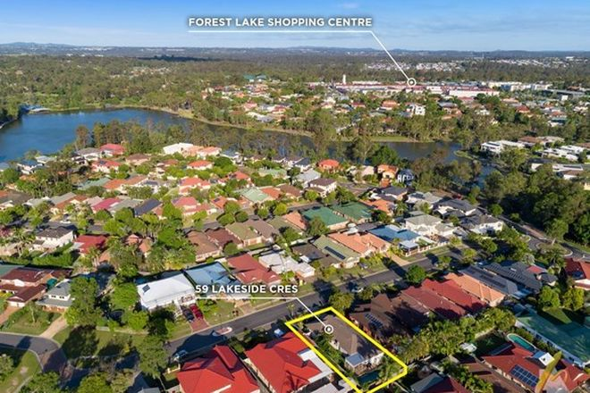 Picture of 59 Lakeside Cres, FOREST LAKE QLD 4078