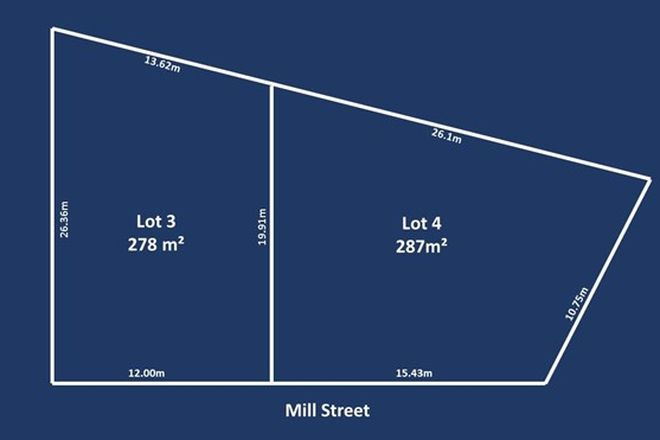 Picture of Lot 3 & 4, 1 Mill Street, FINDON SA 5023