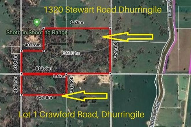 Picture of 1320 Stewart Road, DHURRINGILE VIC 3610